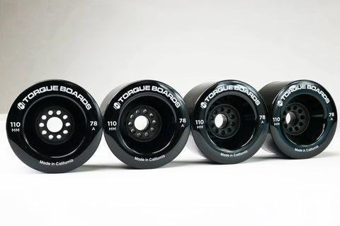 110MM 78A Black TORQUE Wheels (TB110)