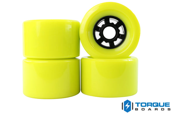 83mm Flywheels LIME GREEN