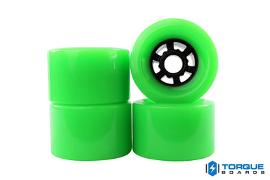 83mm Flywheels NEON GREEN