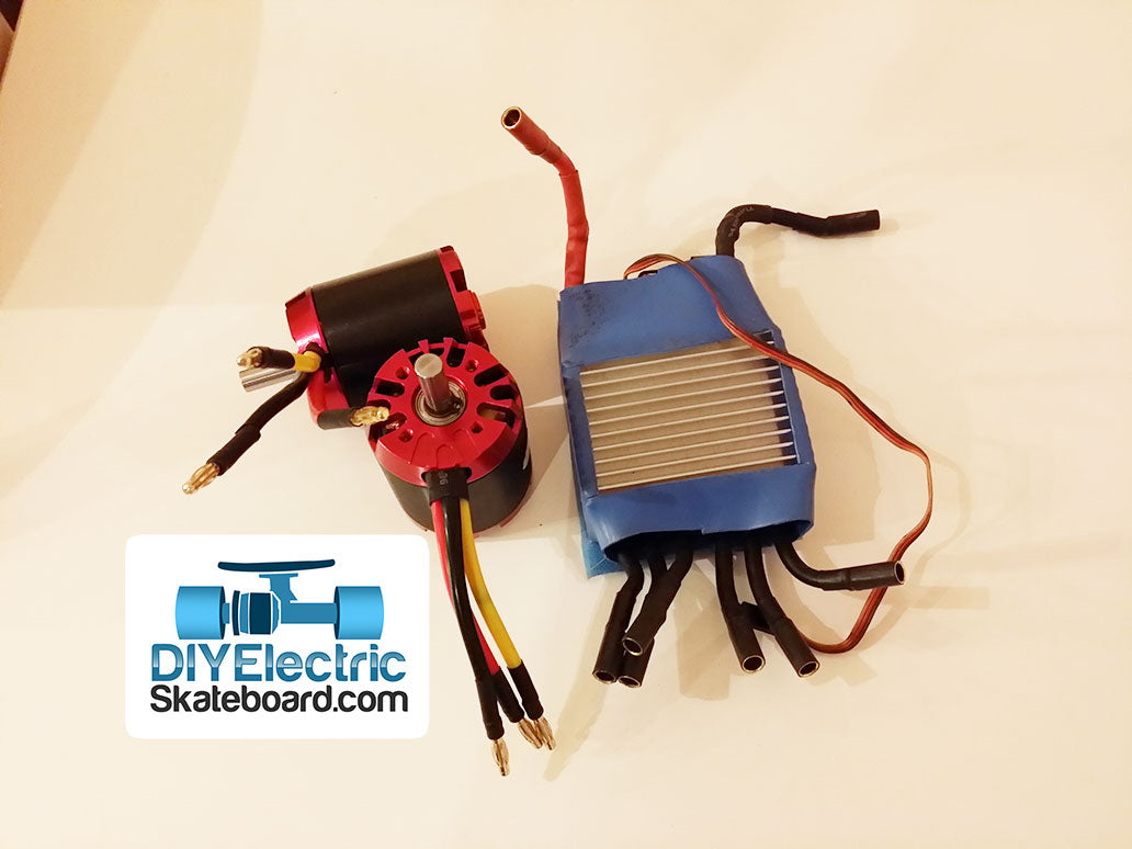 Dual Motor 3000W Electric Skateboard Electrical Kit – DIY Electric ...