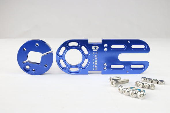 63mm Motor Mount Set (V6 Blue)