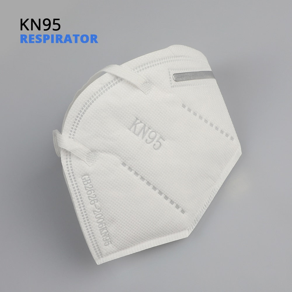 KN95 Face Masks Dust Respirator Adaptable Against Pollution Breathable Mask Filter