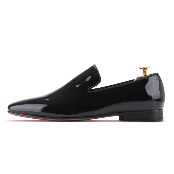 Black Patent Leather Men's Shoes - luxuryandme.com