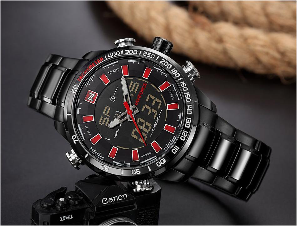 Luxury Sports Waterproof  Wristwatch - luxuryandme.com