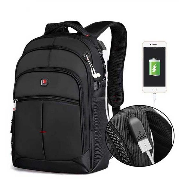 Backpack for school,work,Busines or Travel  with USB port to charge phone - luxuryandme.com
