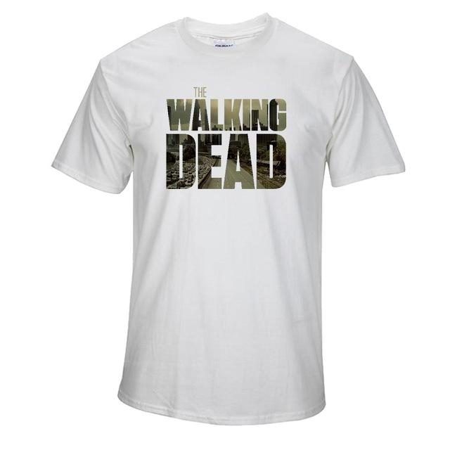 Top Quality  the walking dead print T shirt - luxuryandme.com