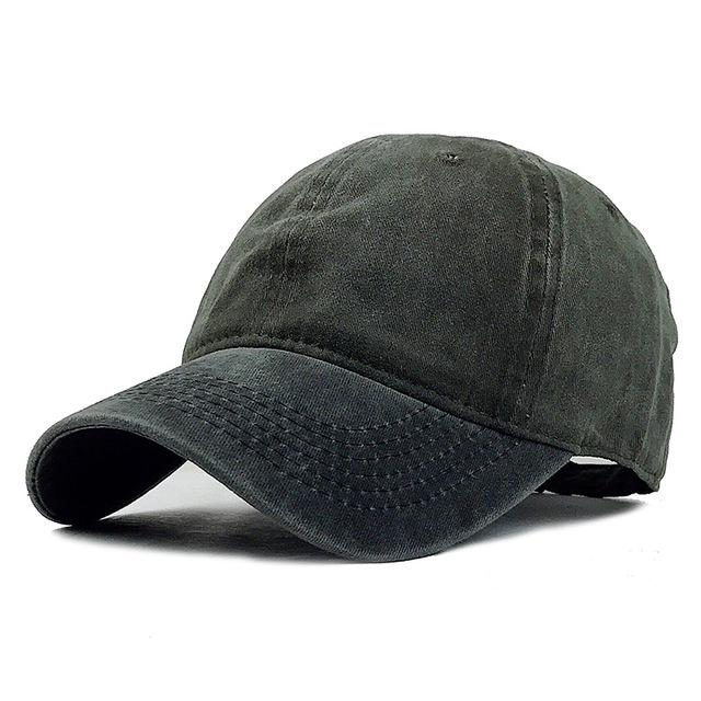 Mixed colors Washed Denim Baseball Cap - luxuryandme.com