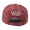 Embroided Letter W Snapback Baseball Cap