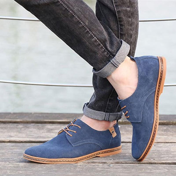 Casual Lace Up  Oxfords Shoes - luxuryandme.com