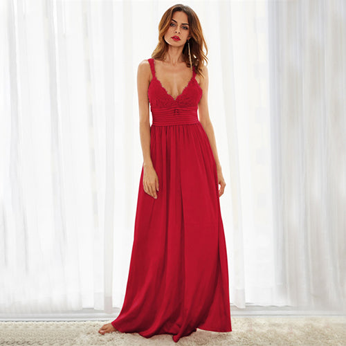 Slip A Line Draped Bow Back Dress