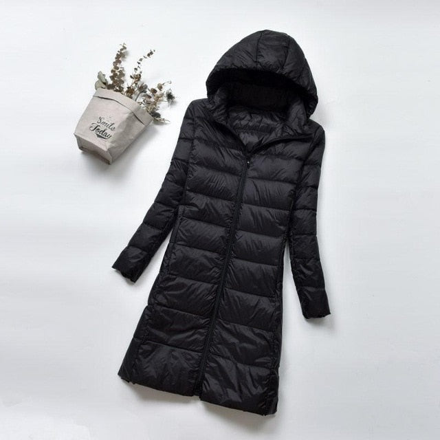 Winter Warm Hooded Parka