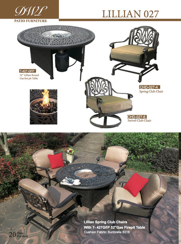Lillian fire pit outdoor burner
