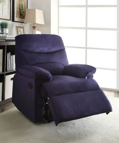 Arcadia Purple Recliner