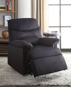 Arcadia Deep Blue Recliner