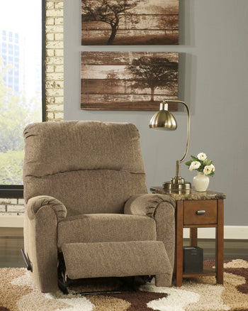 Pranit Zero Wall Recliner Brown