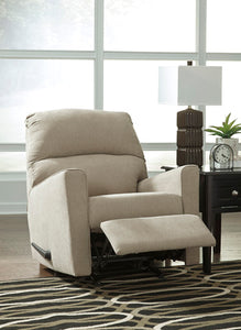 Alenya Rocker Recliner White