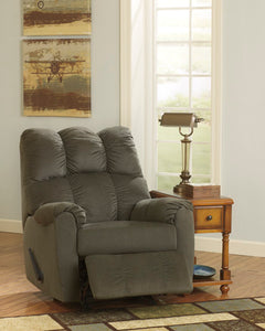 Raulo Rocker Recliner Grey