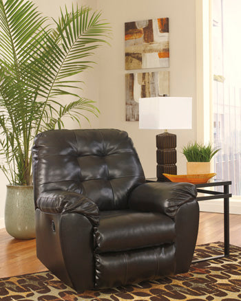 Alliston DuraBlend Rocker Recliner Brown