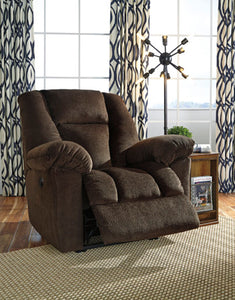 Nimmons Power Recliner Chocolate
