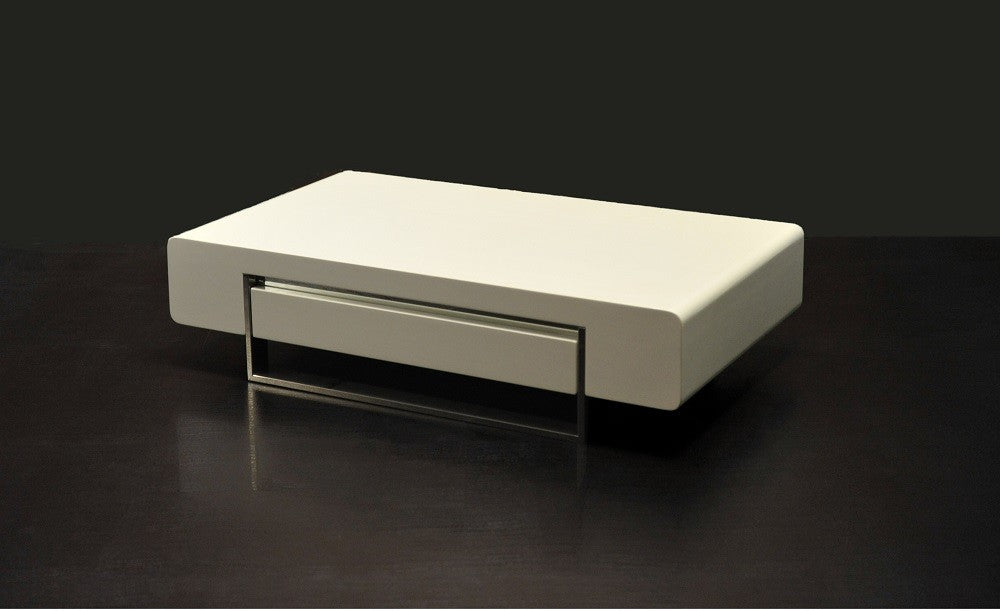 Modern Coffee Table 902A in White