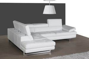 Aurora Italian Leather Sectional