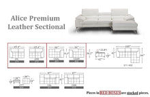 Alice Premium Leather Sectional