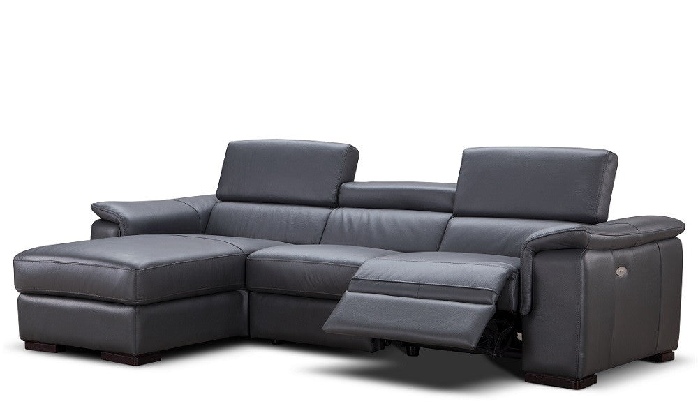 Allegra Leather Sectional