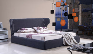 Chanelle King Bed in Grey