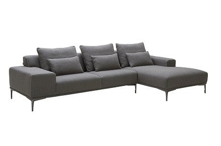 Christian Modern Sectional in Right Hand Facing