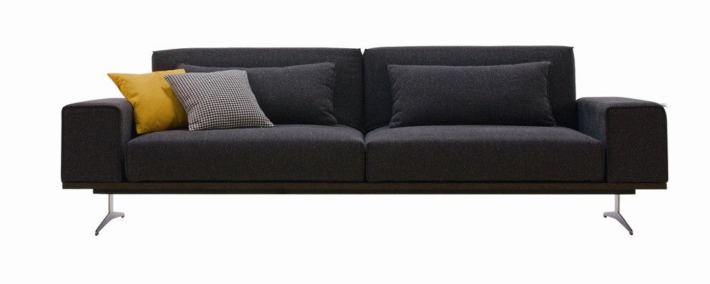 Premium Sofa Bed K56 in Grey Fabric