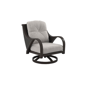 Marsh Creek Swivel Lounge w/Cushion (2/CN)