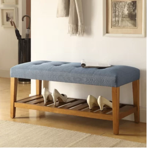 Charla Bench in Blue