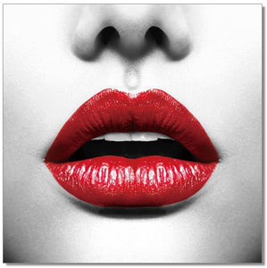 Wall Art Red lips