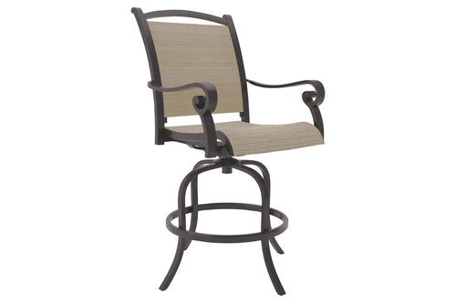 Bass Lake Sling Barstool (2/CN)