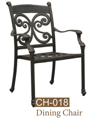 Cast Aluminum Dining chair
