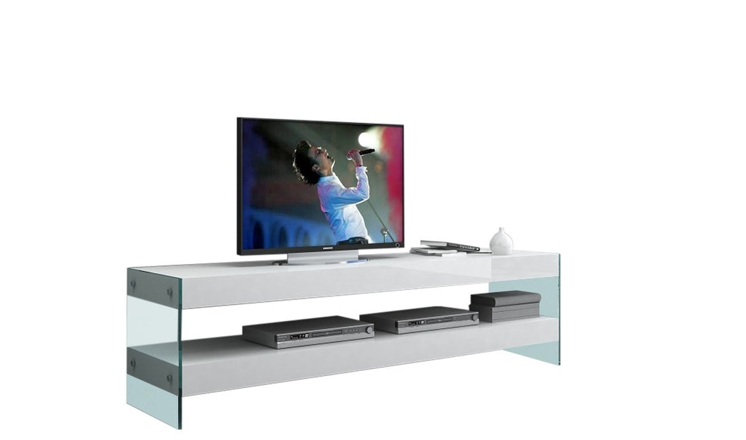 Cloud TV Base White High Gloss