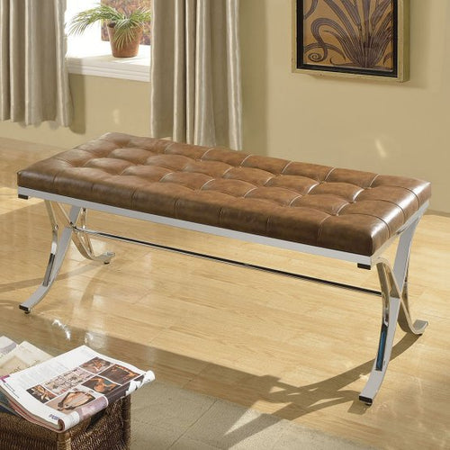 Royce Bench in Brown