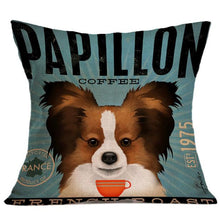 Vintage Cute Dog Pillow Cases