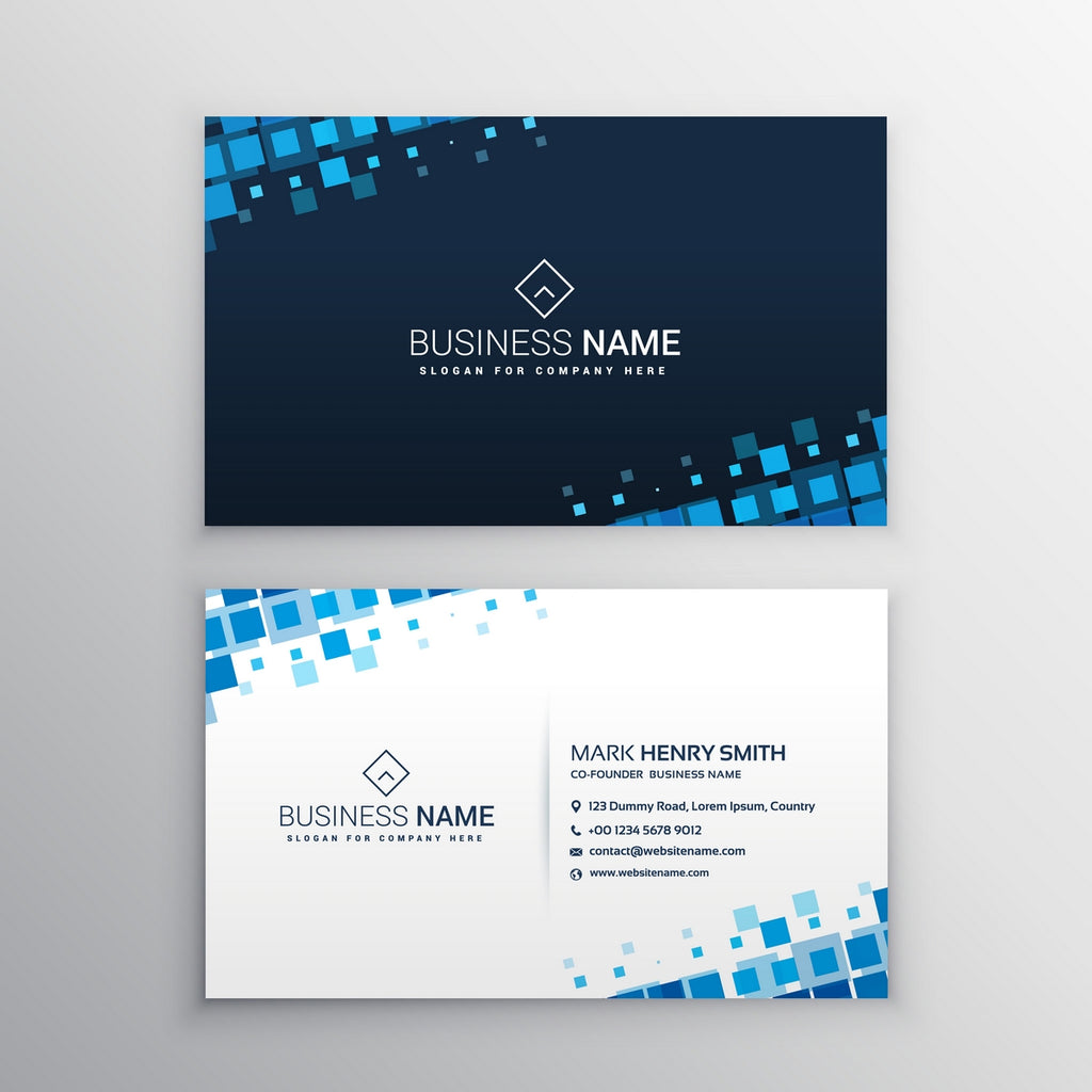 SINGLE SIDED VISITING CARD – MASTER PRINTS
