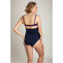 BIKINI TOP JULIA (Matte Purple & Navy)