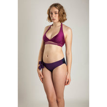 BIKINI BOTTOM ISA (Shiny Purple & Navy)