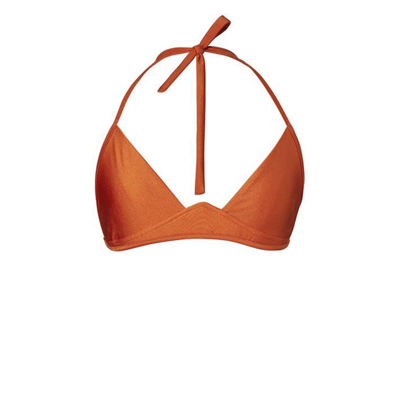 BIKINI TOP JO (Shiny Copper Orange)