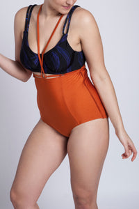 BIKINI BOTTOM ARIANE (Shiny Copper Orange)