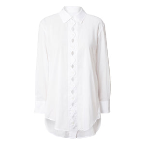 LEILA SHIRT<BR> (White)
