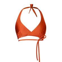 BIKINI TOP RANIA (Shiny Copper Orange)