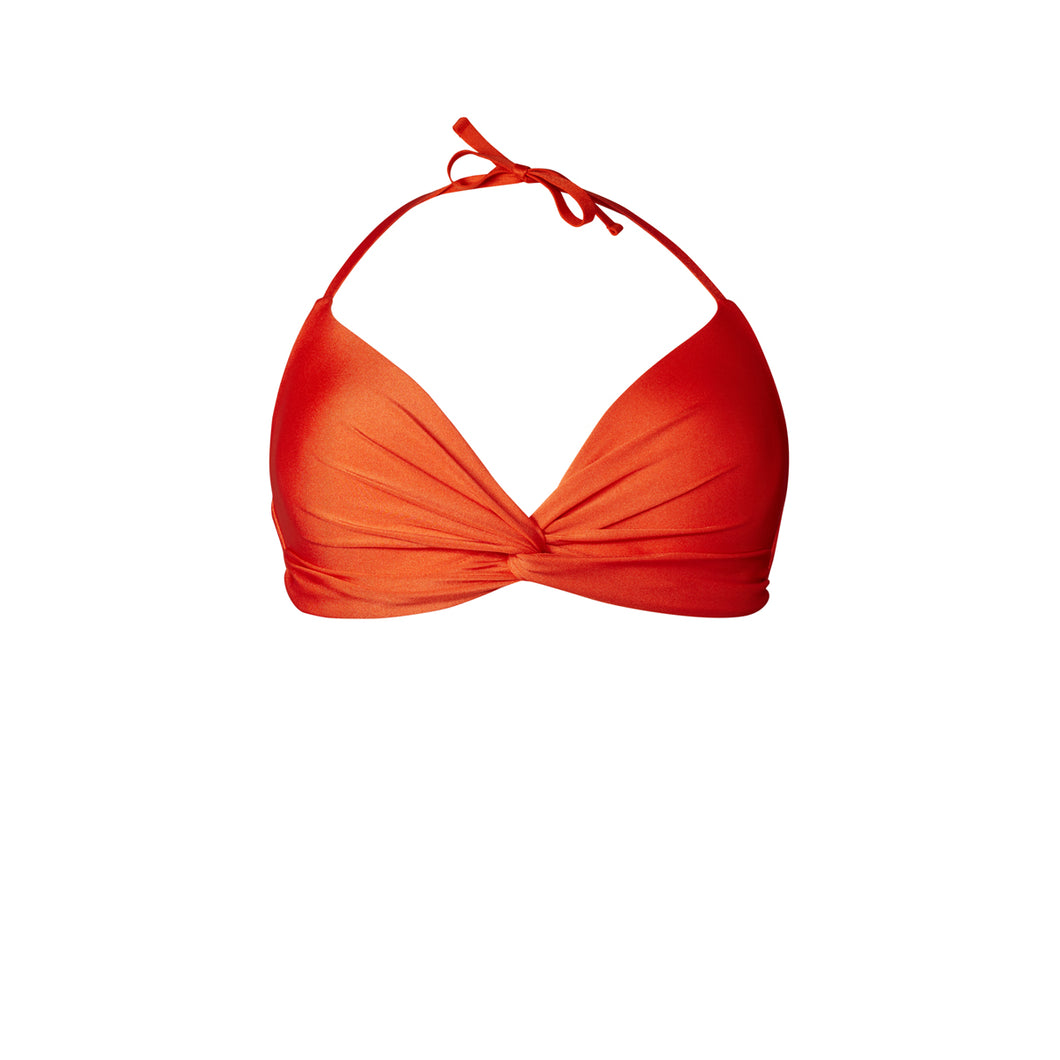 BIKINI TOP COSIMA (Shiny Red)