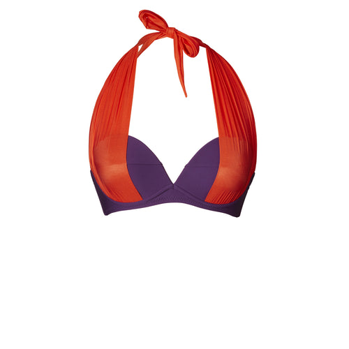 BIKINI TOP LOU (Matte Purple & Red)