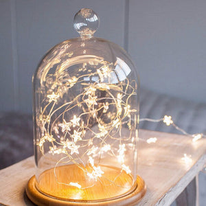 LED Star Copper Wire String Lights LED Fairy Lights Christmas Wedding decoration Lights Battery Operate Twinkle Lights