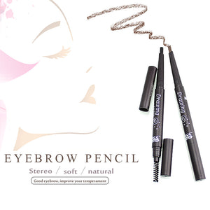 Makeup tool Eyebrow Tint with Eyelash brush Cosmetics Natural Long Lasting Paint Tattoo Eyebrow Waterproof Eyebrow Pencil