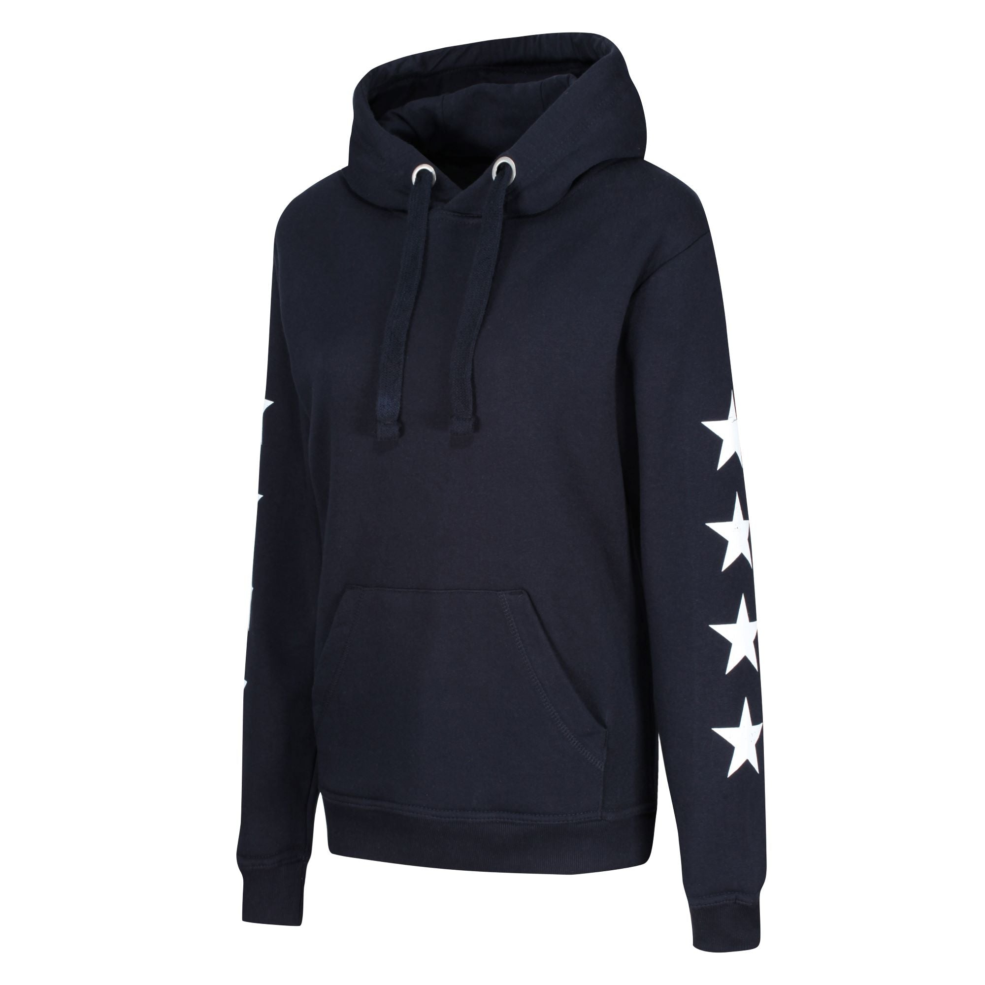 The STARS Heavyweight Hoodie - Navy